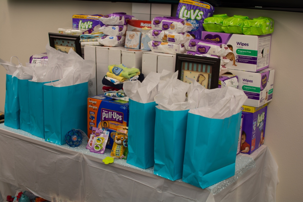 of osteopathic medicine bcom acop hosts community baby shower