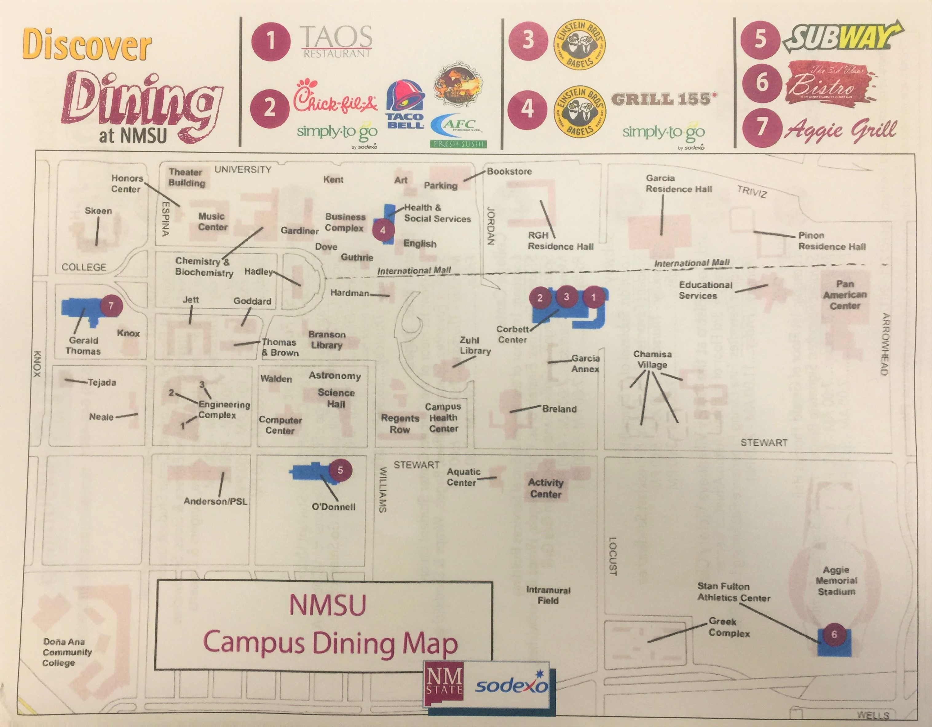 Burrell College Of Osteopathic Medicine Discover Dining At Nmsu