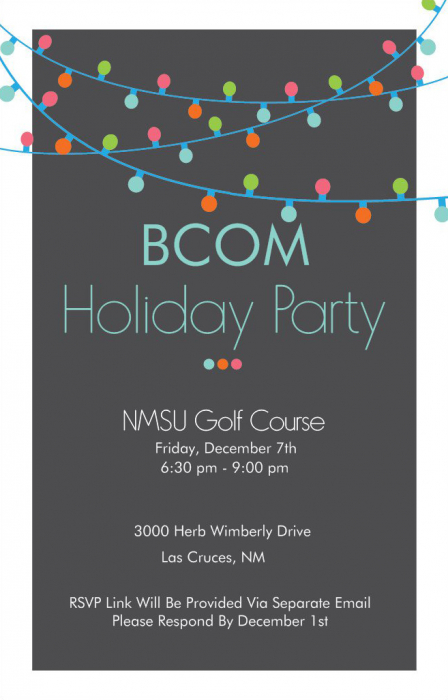 BCOM Holiday Party 2018