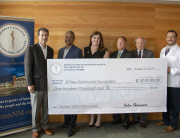 Check presentation to the El Paso Community Foundation