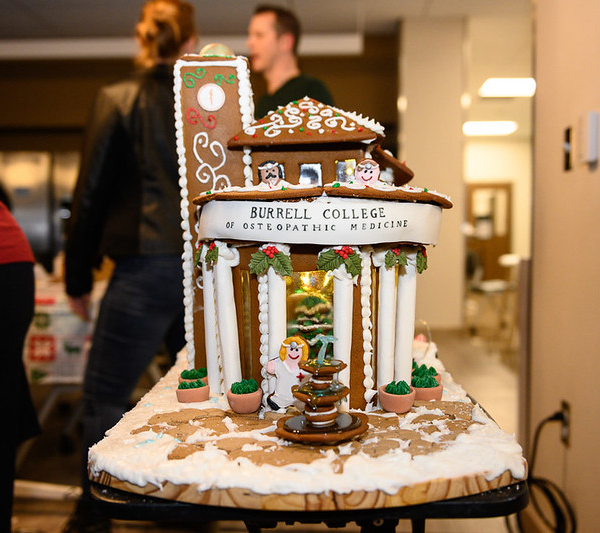Gingerbread House Challenge Winner