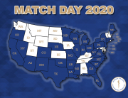 Class of 2020 Match Map-U.S. only