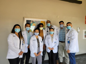 Gary is currently in clinical rotations at the El Paso Regional Academic Center