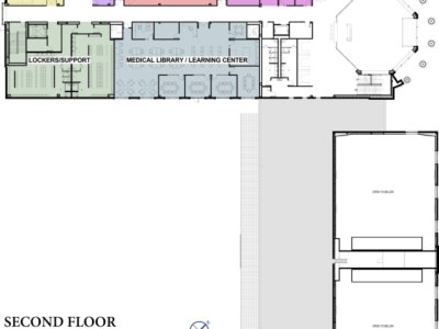 BCOM Second Floor Plans