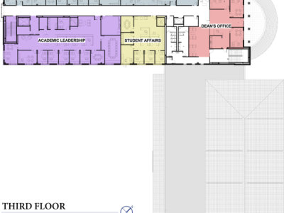 BCOM Third Floor Plans