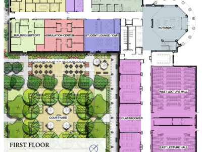 BCOM First Floor Plans