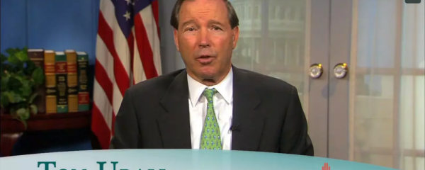 "Senator Tom Udall <br><span style=""font-size:16px!important;"">Addresses the Commission on Osteopathic College Accreditation</span>"