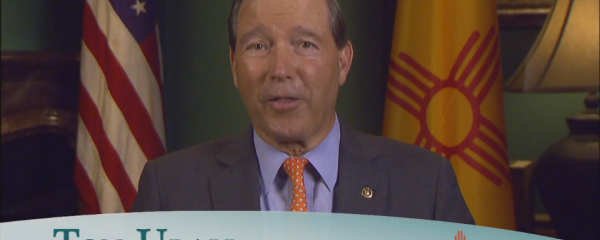 "Senator Tom Udall<br  /><span style=""font-size:16px!important;"">Congratulates BCOM's Inaugural Class – The Class of 2020</span>"