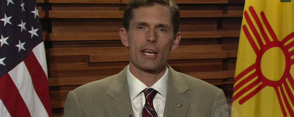 "Senator Martin Heinrich<br><span style=""font-size:16px!important;"">Addresses the Commission on Osteopathic College Accreditation</span>"